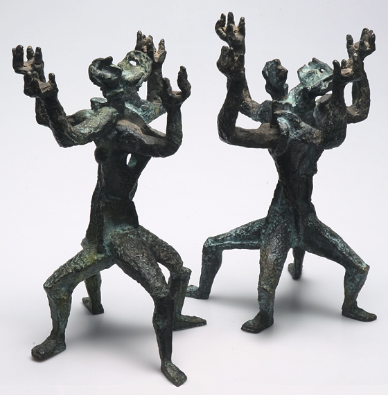 Pairofcandelabras, 1950 - Ossip Zadkine