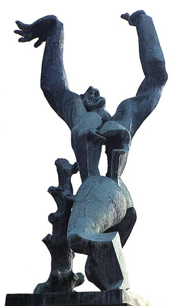 The city destroyed, 1951 - Ossip Zadkine