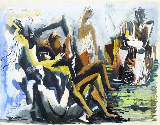 Untitled, 1946 - Ossip Zadkine