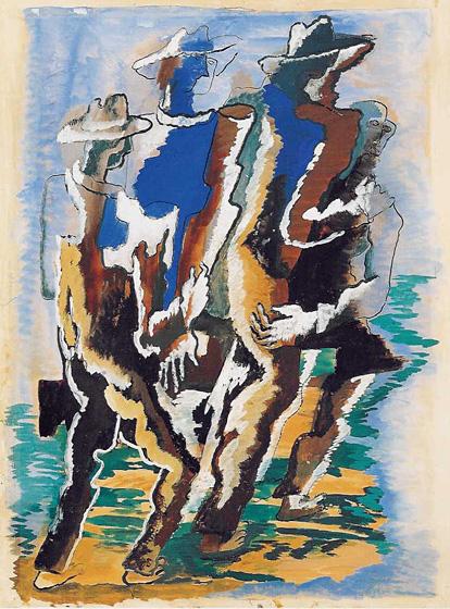 Untitled, 1947 - Ossip Zadkine