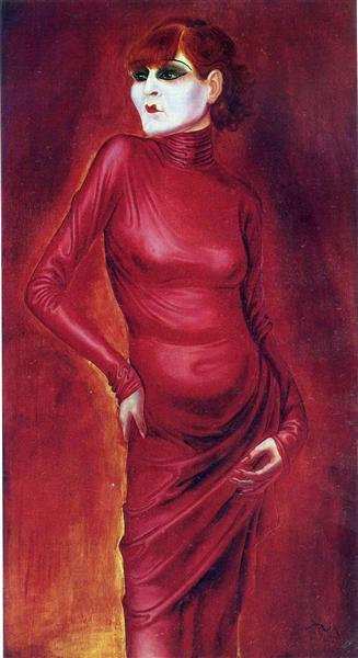 The Dancer Anita Berber, 1925 - Otto Dix