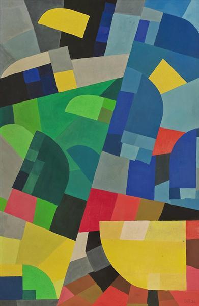 Composition, 1936 - Otto Freundlich
