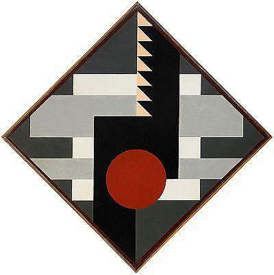 Diagonal komposition för tambur II - Otto Gustav Carlsund
