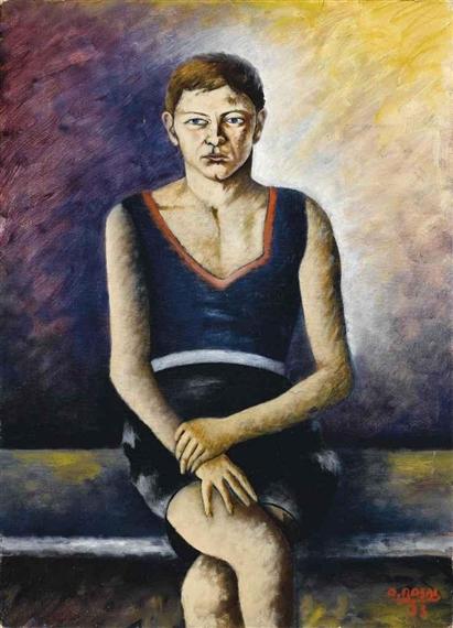 Ritratto di ragazzo (Ritratto di Donnini), 1933 - Ottone Rosai