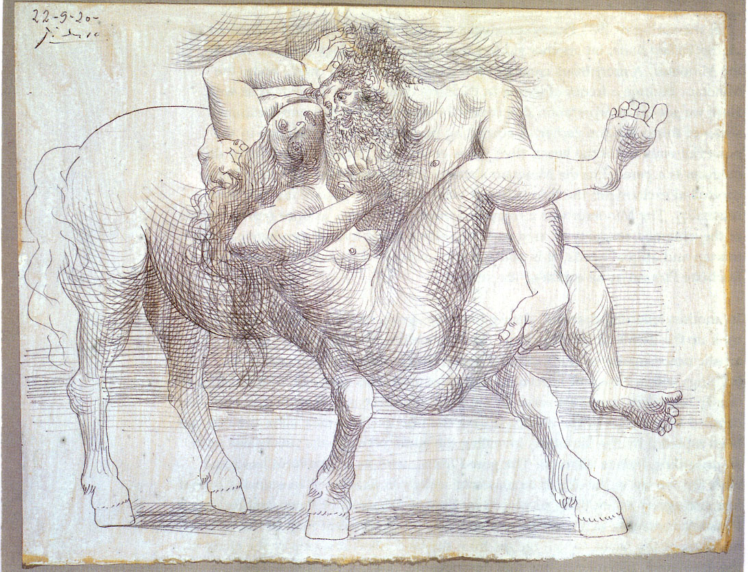 Abduction (Nessus and Deianeira), 1920