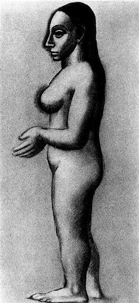 Pablo Picasso Female Nude 74