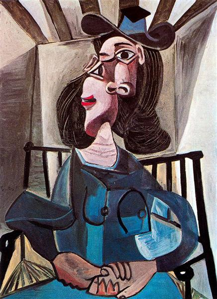 Girl in chair - Picasso Pablo