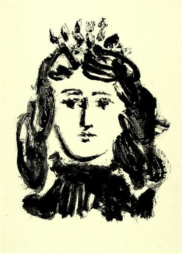 Head of a Girl - Pablo Picasso