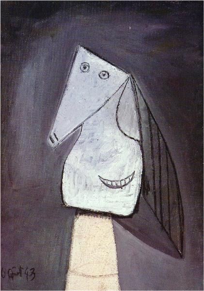 Head of woman, 1943 - Pablo Picasso