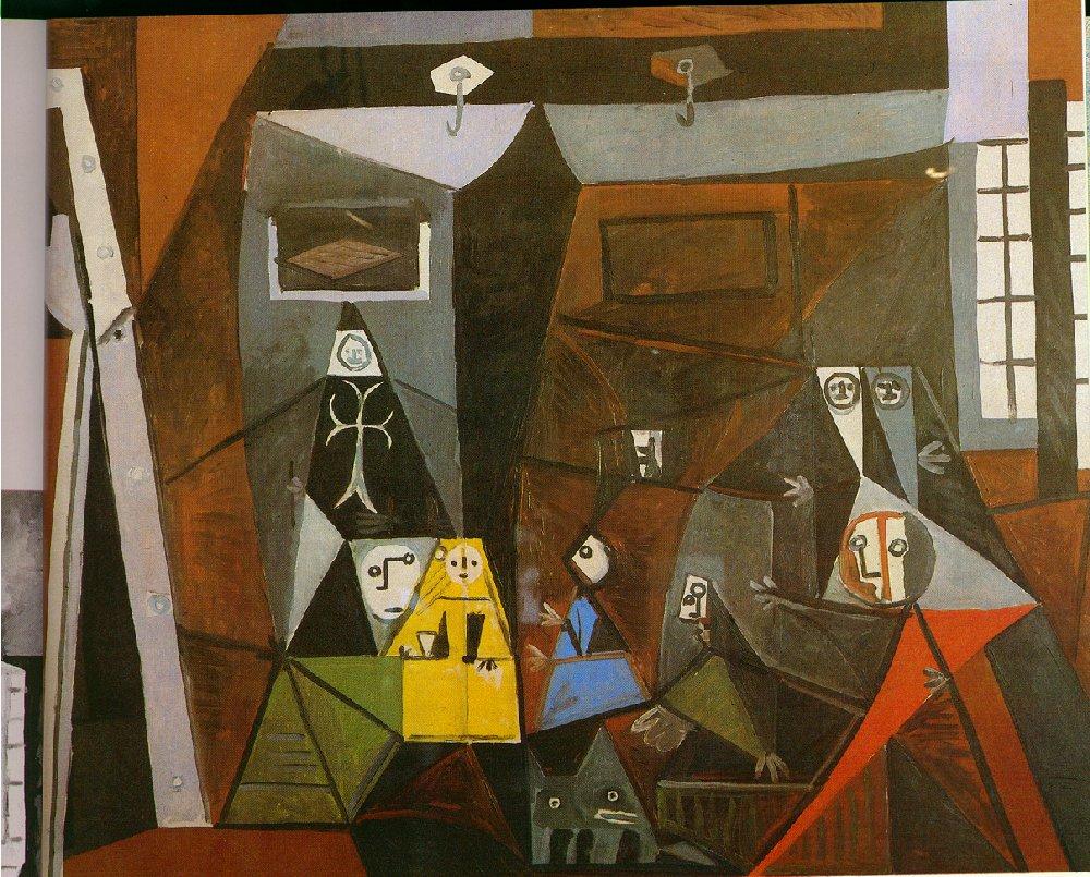 Las Meninas (Velazquez) - Pablo Picasso - WikiArt.org ...