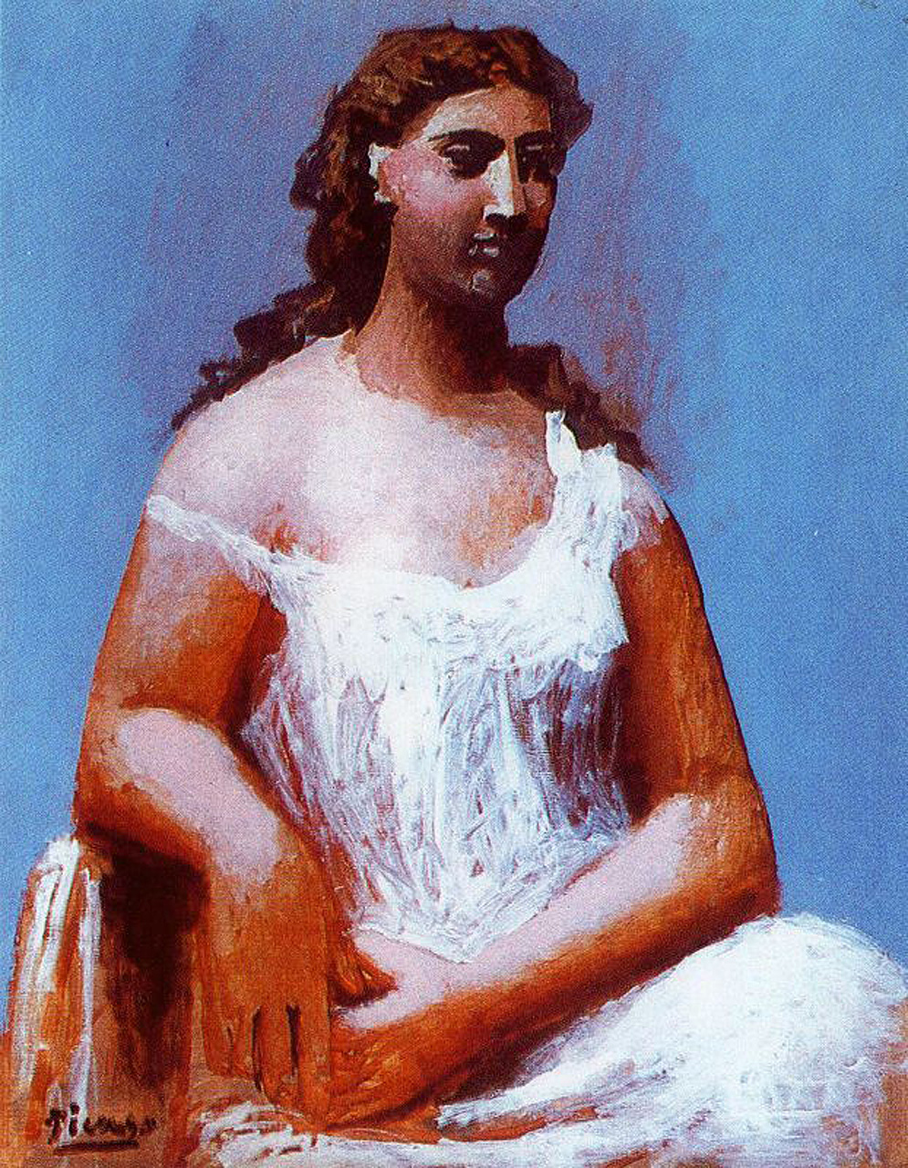 Seated woman, 1923