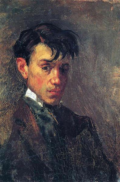 Self-Portrait, 1896 - Pablo Picasso