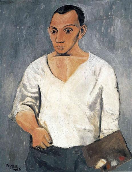 Self-Portrait, 1906 - Pablo Picasso