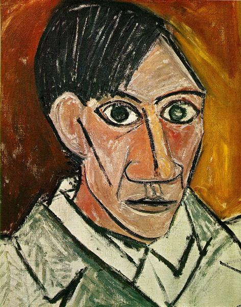 Self-Portrait, 1907 - Pablo Picasso