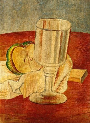 Still life with Gobleet - Pablo Picasso