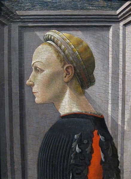 Portrait of a Lady, 1445 - 1450 - Paolo Uccello