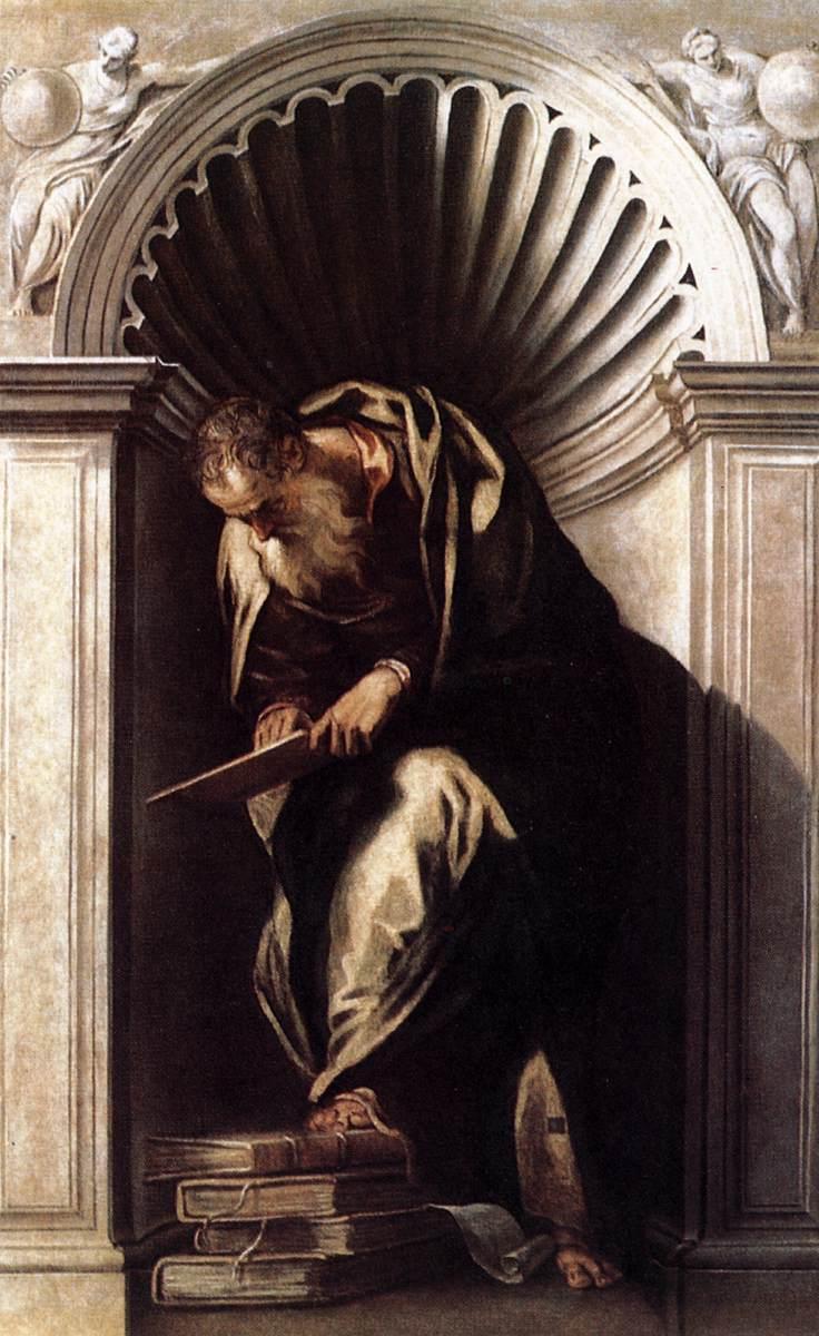 Aristotle - Paolo Veronese - WikiArt.org - encyclopedia of ...