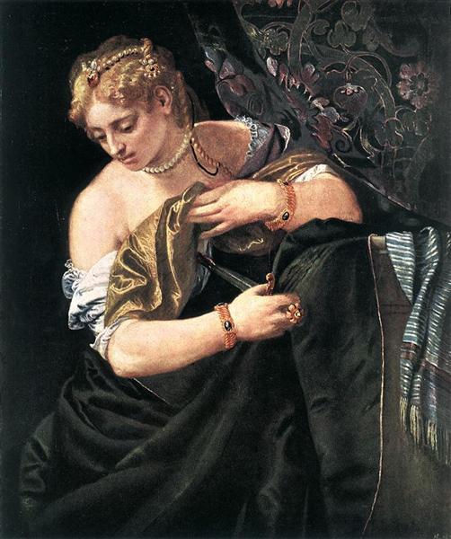 Lucretia, 1580 - Paolo Veronese