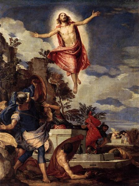 The Resurrection of Christ, c.1570 - Paolo Veronese