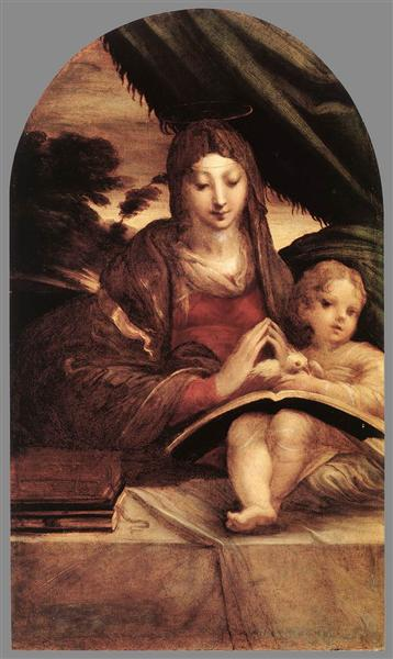madonna and child with angels parmigianino - photo #6