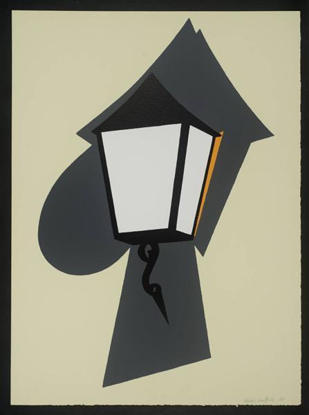 Wall Lamp, 1994 - Patrick Caulfield