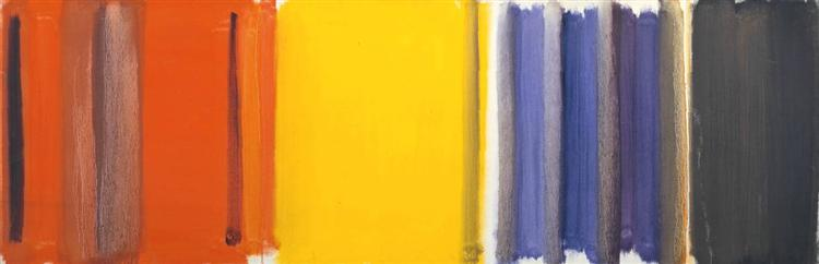 Scarlet, Lemon and Ultramarine: March 1957 - Patrick Heron