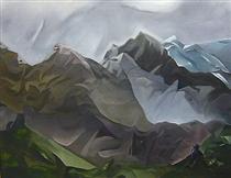 Paysage de montagne - Пауль Акерман