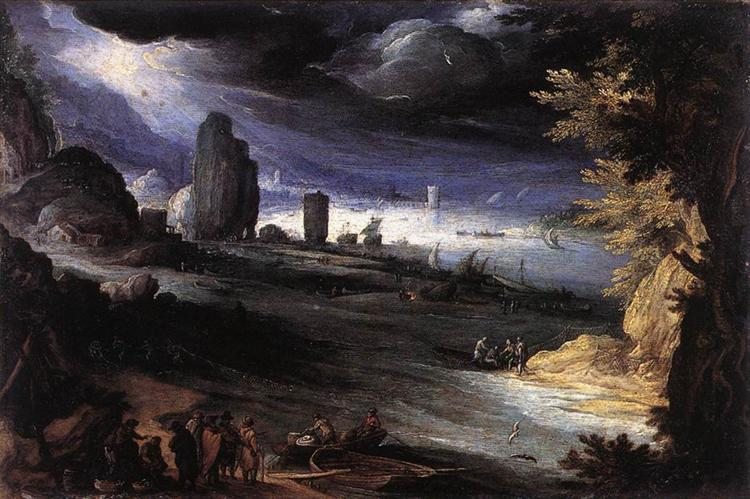 Coastal Landscape, 1596 - Paul Bril