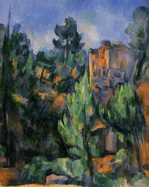 Bibemus Quarry, 1898 - Paul Cezanne