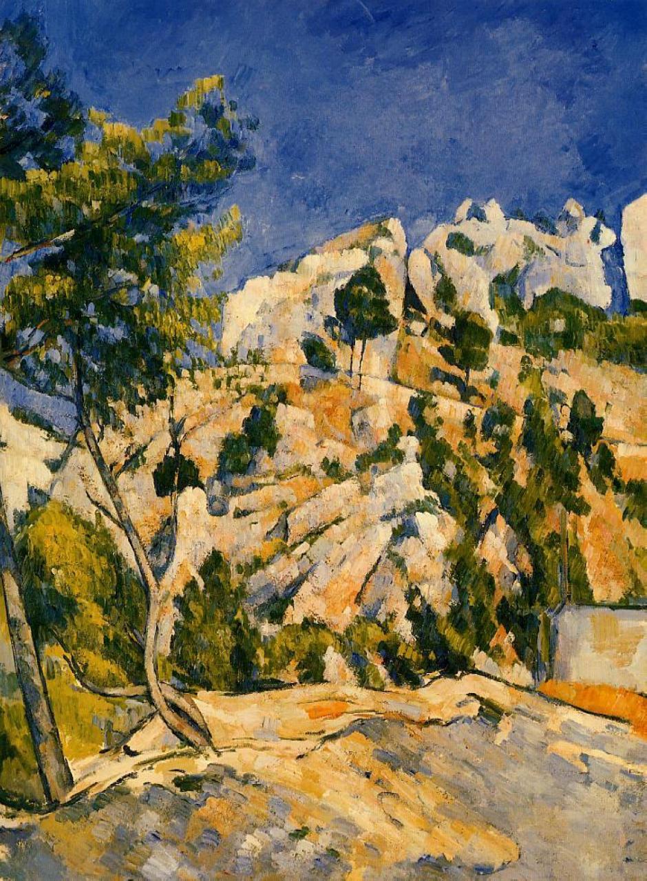 Bottom of the Ravine, c.1879 - Paul Cezanne - WikiArt.org