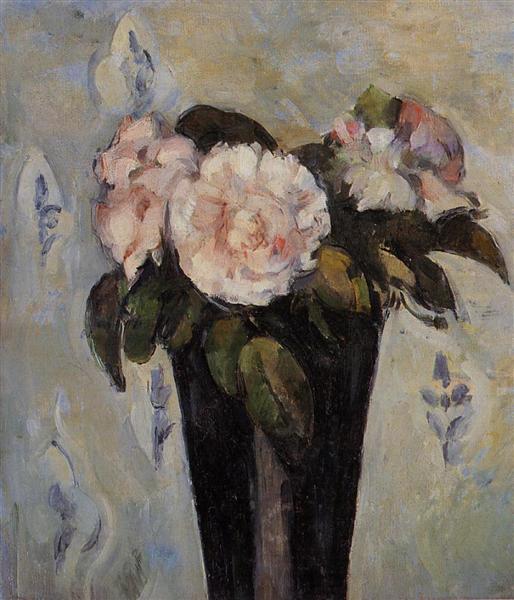 Dark Blue Vase 1880 Paul Cezanne Wikiart