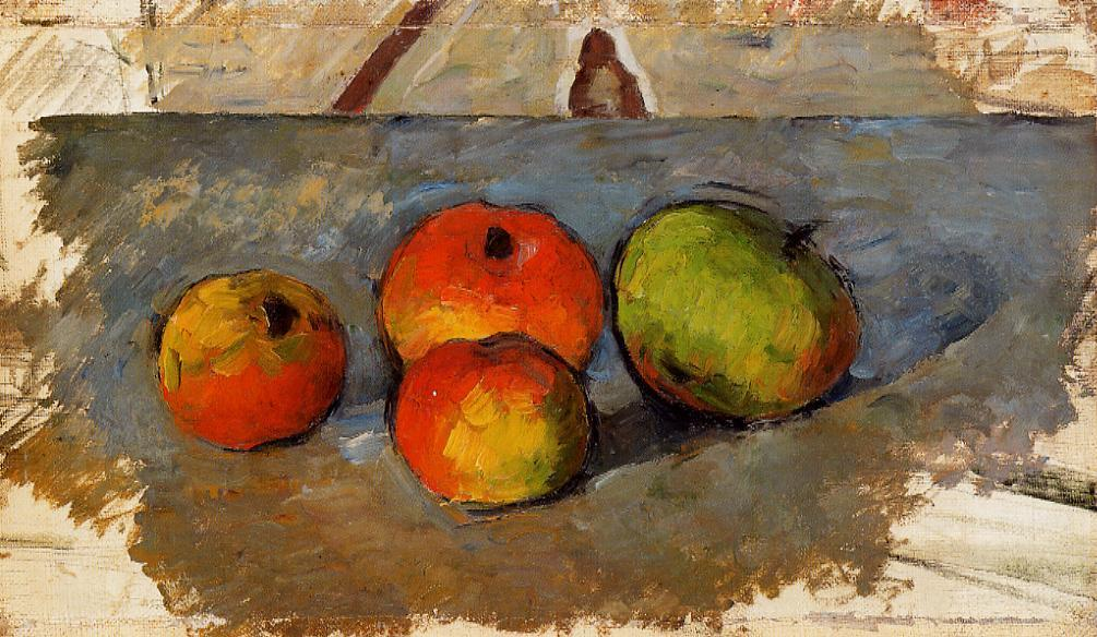 """the apples of cezanne an essay on the meaning of still-life Still life: apples and jar circa 1912  artists who succumbed to the magnetism of cezanne in the early part  an essay on the meaning of still-life"""" in modern."""