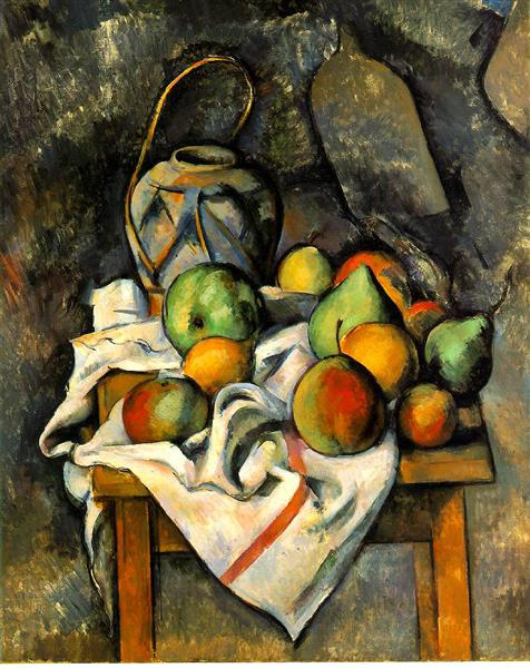 Ginger Jar, c.1895 - Paul Cezanne