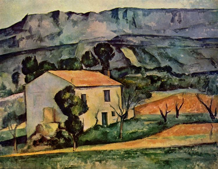 Houses in Provence, near Gardanne, 1886 - Paul Cezanne