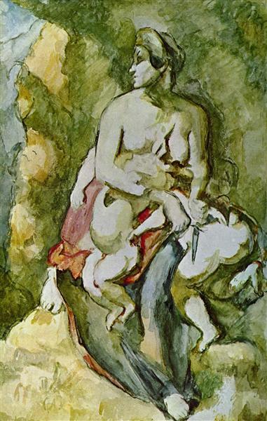 Medea, 1882 - Paul Cezanne