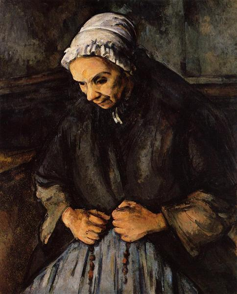Old Woman with a Rosary, 1896 - Paul Cezanne