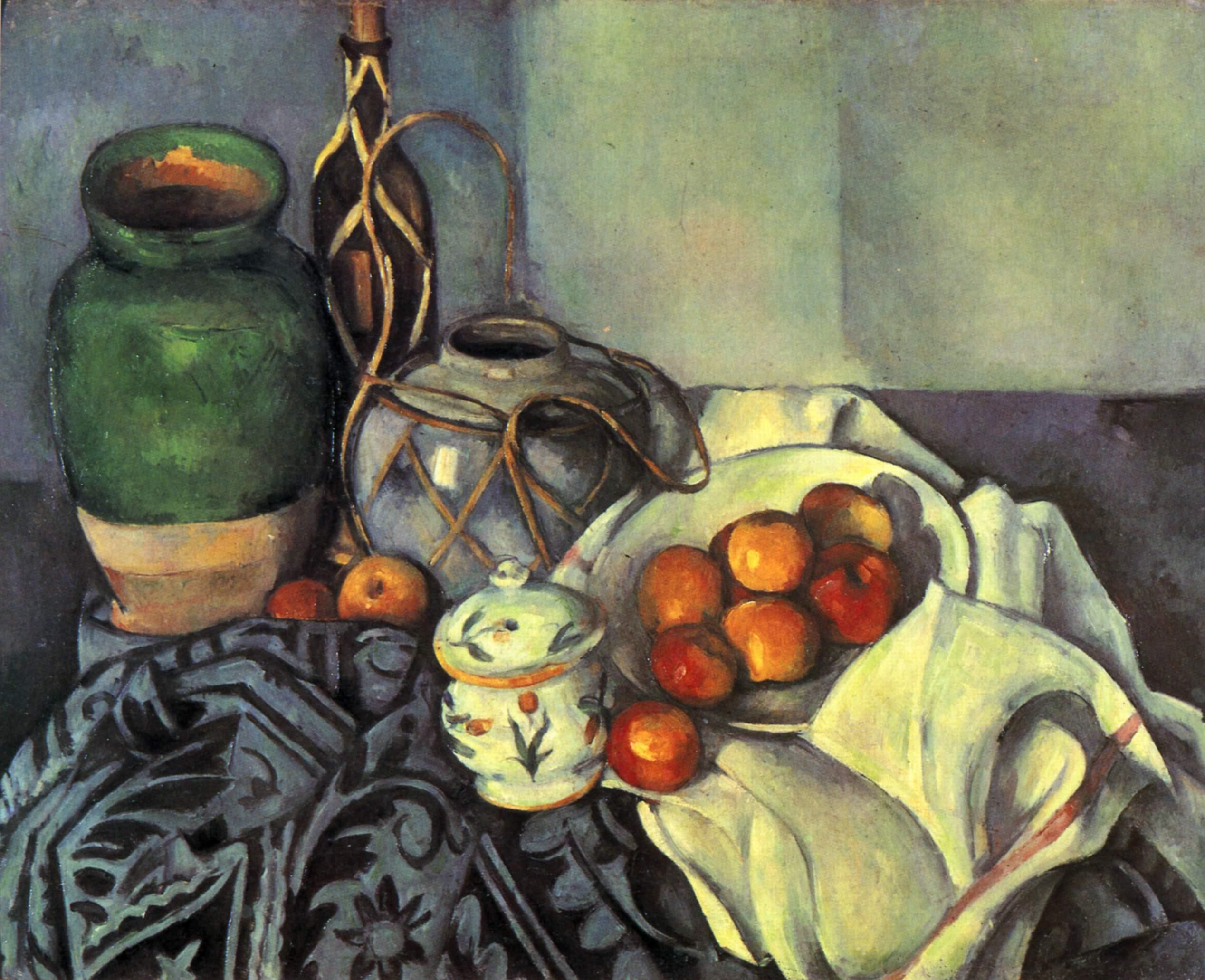 保罗·塞尚 Paul Cézanne - 水木白艺术坊 - 贵阳画室 高考美术培训