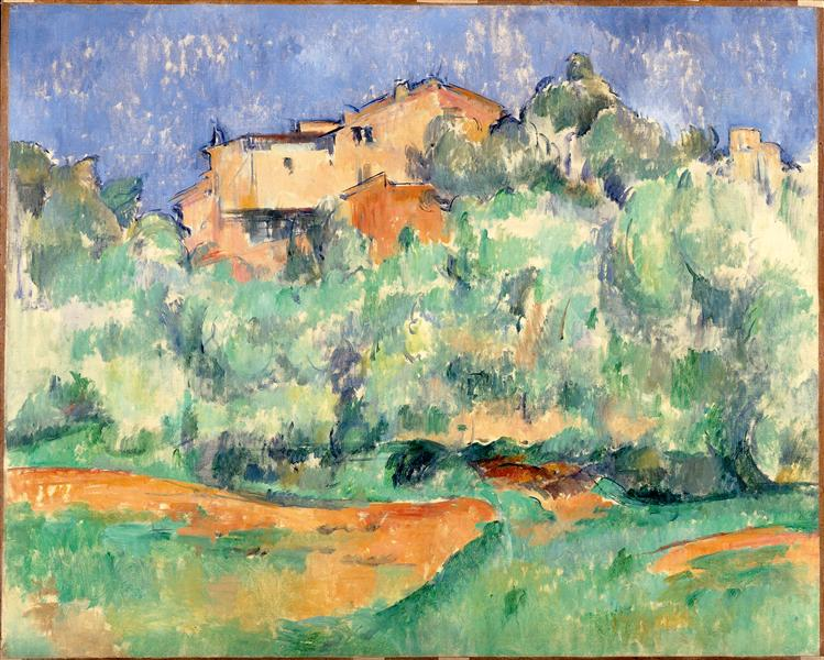 The farm of Bellevue, 1892 - Paul Cézanne