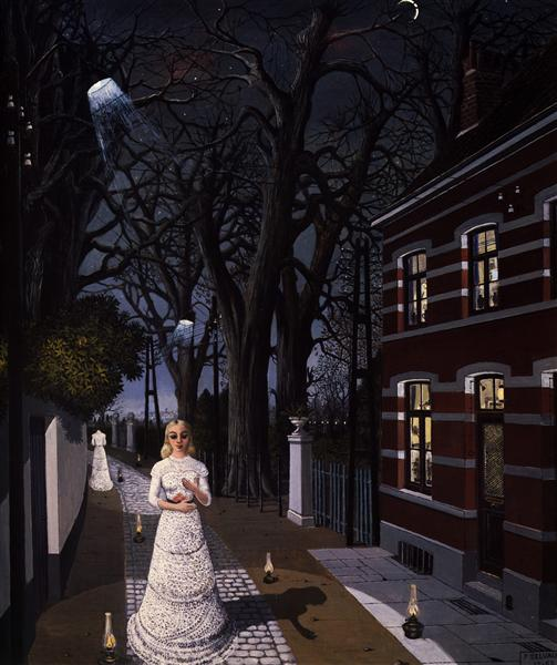 All the lights, 1962 - Paul Delvaux