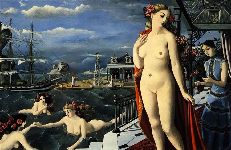 Birth of Venus, 1947 - Paul Delvaux