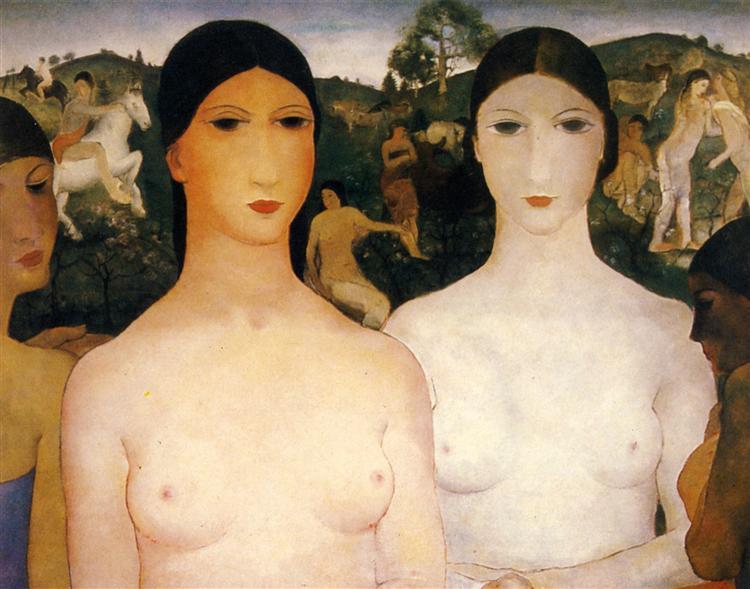 Girls, 1929 - Paul Delvaux