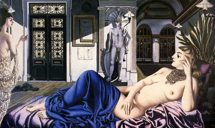 In Praise of Melancholy, 1948 - Paul Delvaux