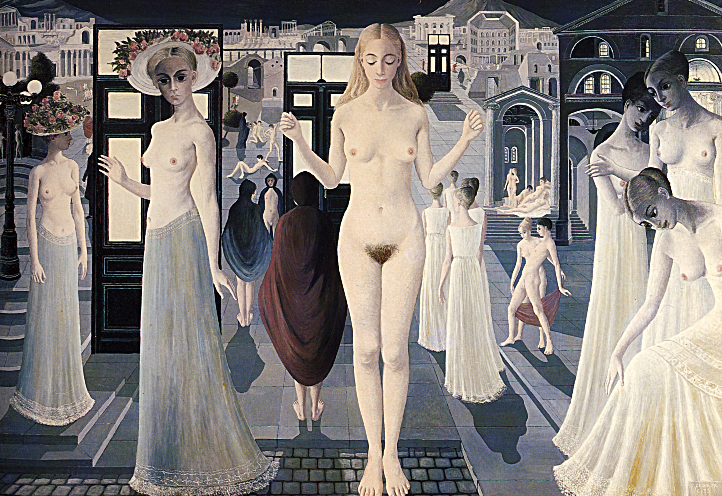 Paul Delvaux Gallery Pompei Paul Delvaux