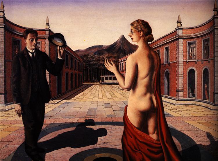 Salut, 1938 - Paul Delvaux