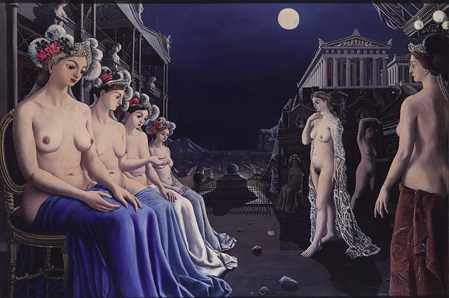 Sirens, 1979 - Paul Delvaux