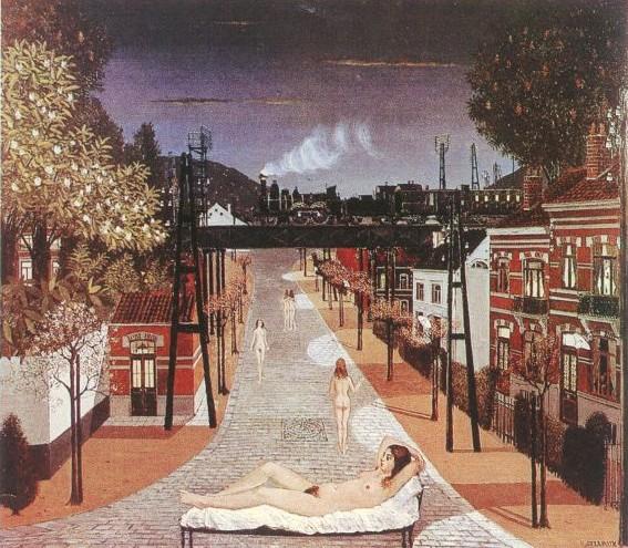 Spring, 1961 - Paul Delvaux