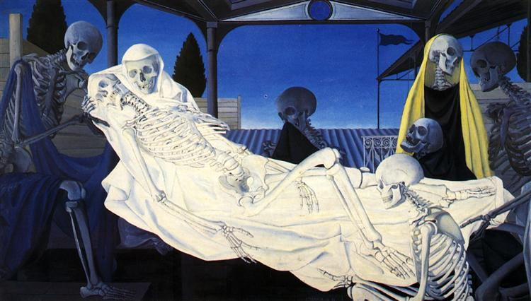 The Deposition, 1951 - Paul Delvaux