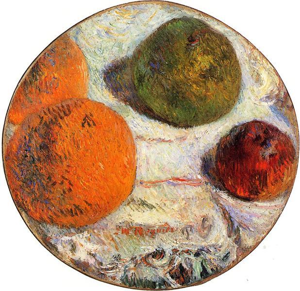 Fruit, 1886 - Paul Gauguin