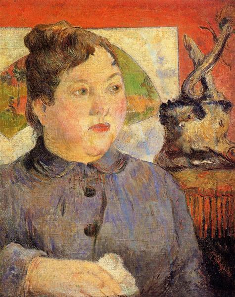 Madame Alexandre Kohler, 1887 - Paul Gauguin