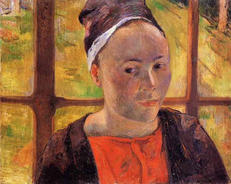 Portrait of a woman (Marie Lagadu), 1888 - Paul Gauguin